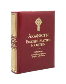 Акафисты Божией Матери и святым, читаемые в житейских нуждах, скорбях и болезнях.
