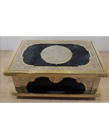 Шкатулка Сирин (Яшма, Латунь, Никель, Золото (999,9))
