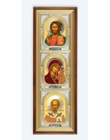 Иконы в киоте