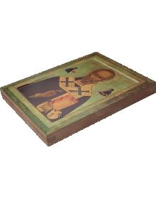 Икона. Святитель Николай Чудотворец. 16 век