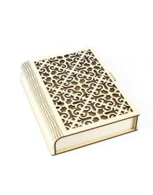 Деревянный короб для книги
