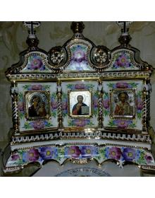 Иконостас фарфоровый