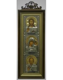 Иконы в киоте 20х50